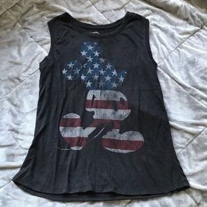 Mickey Mouse Muscle Tank Top